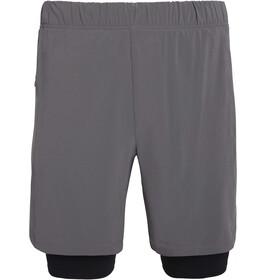 "saucony Doubleback 7"" 2-1 Shorts Men, castlerock"